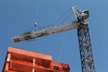 1407 On Michigan tower crane removal 3