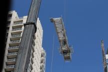 1407 On Michigan tower crane removal 6