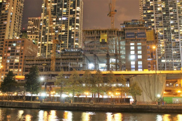 Vista Tower at night