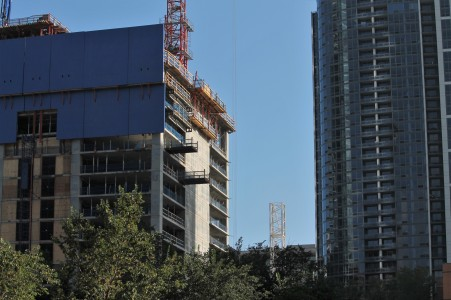 One Grant Park tower crane #2 8