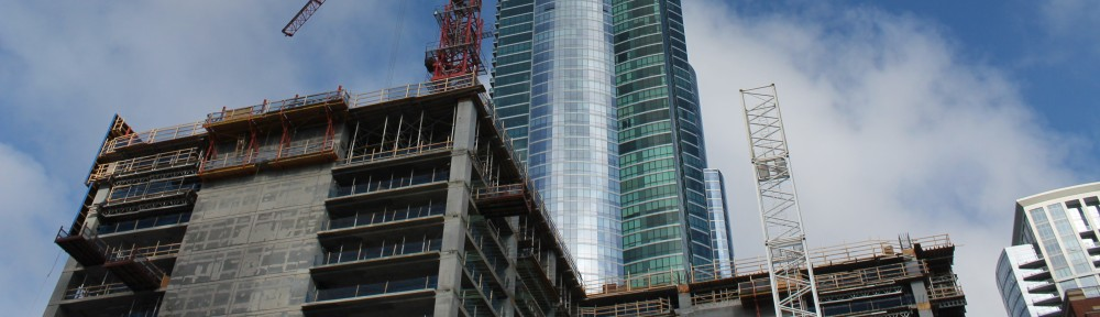 One Grant Park tower crane #2
