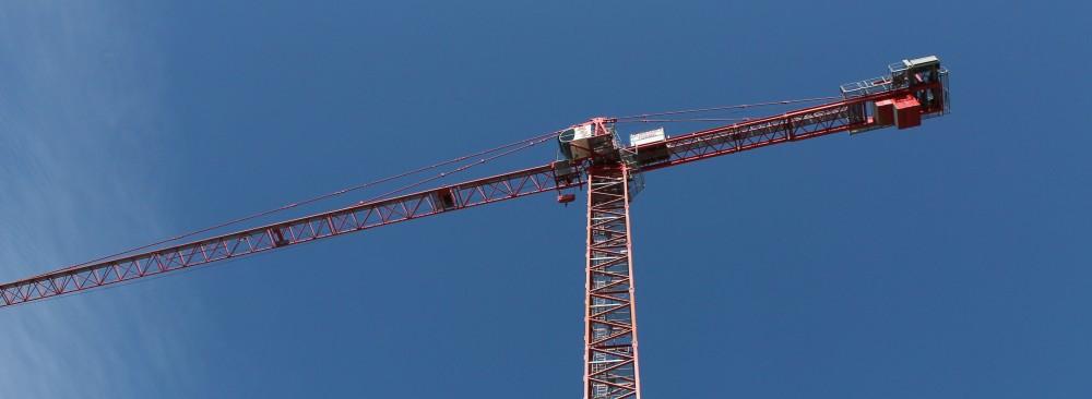 210 North Carpenter tower crane