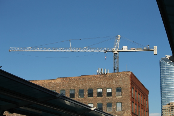 Hoxton Chicago tower crane