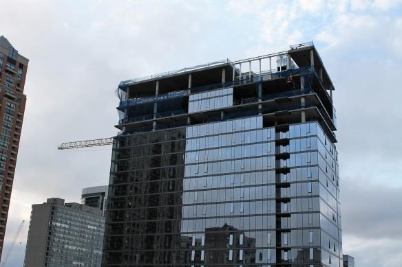 Eleven40 tower crane removal