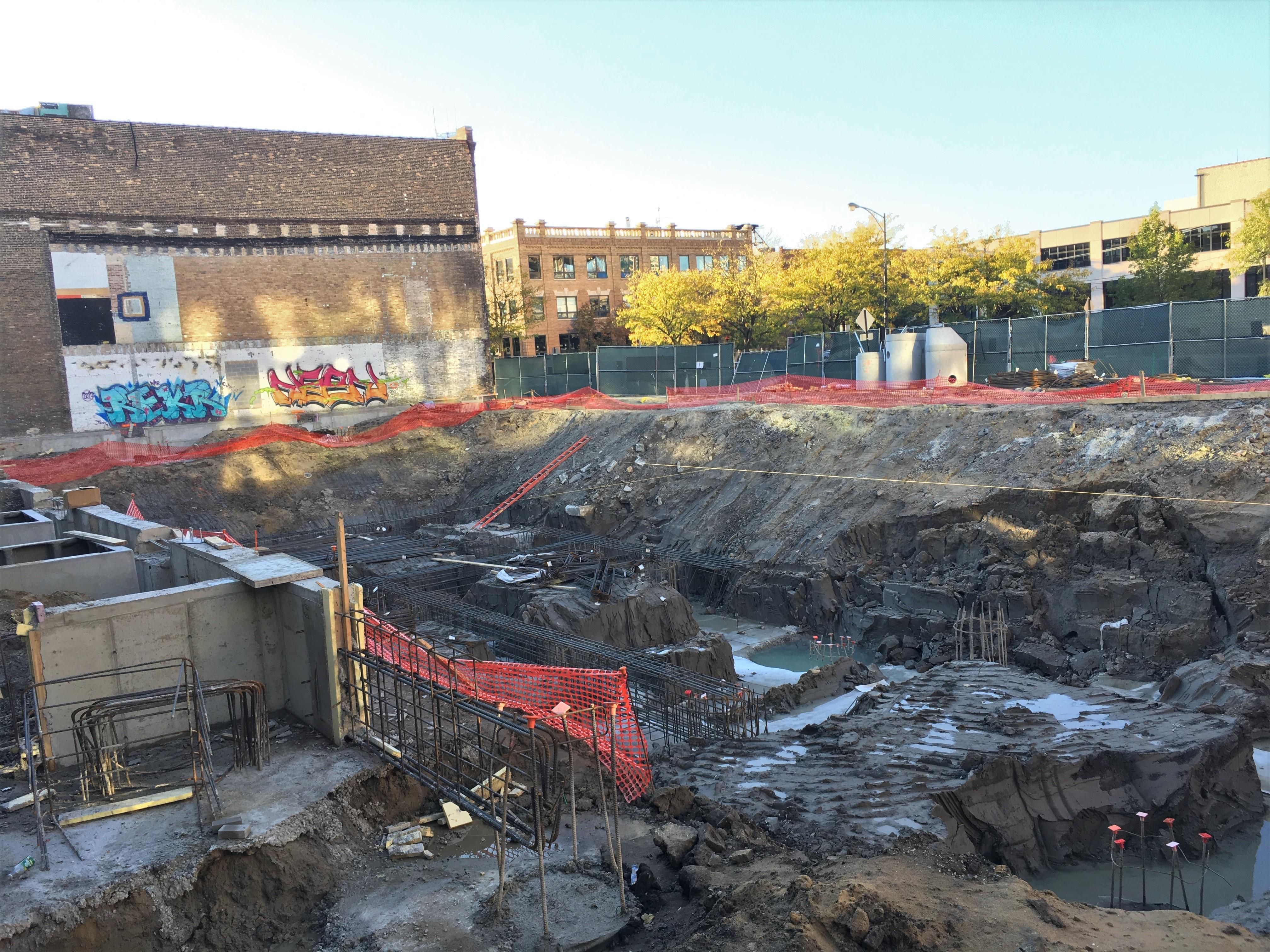 Hayden West Loop foundations