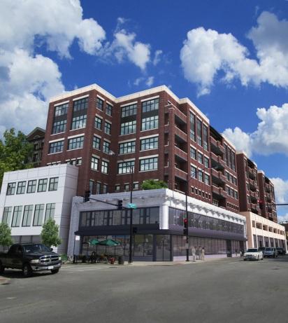 3833 North Broadway render from Jonathan Splitt Architects.