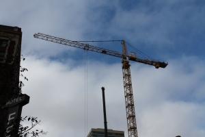 Home2 Suites tower crane