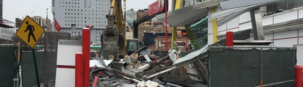 Rock and Roll McDonald's demolition
