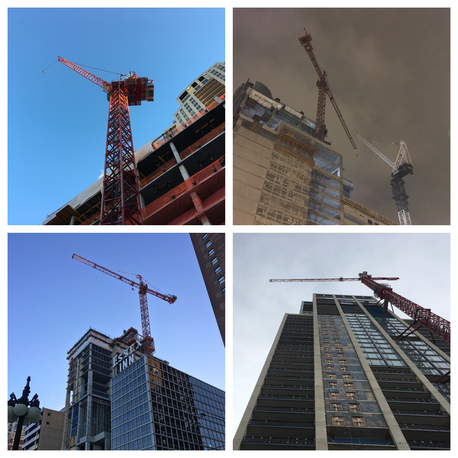 Chicago had 62 tower cranes in 2017
