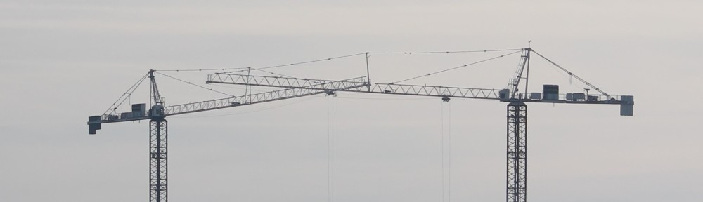 January 2018 30 tower cranes in Chicago