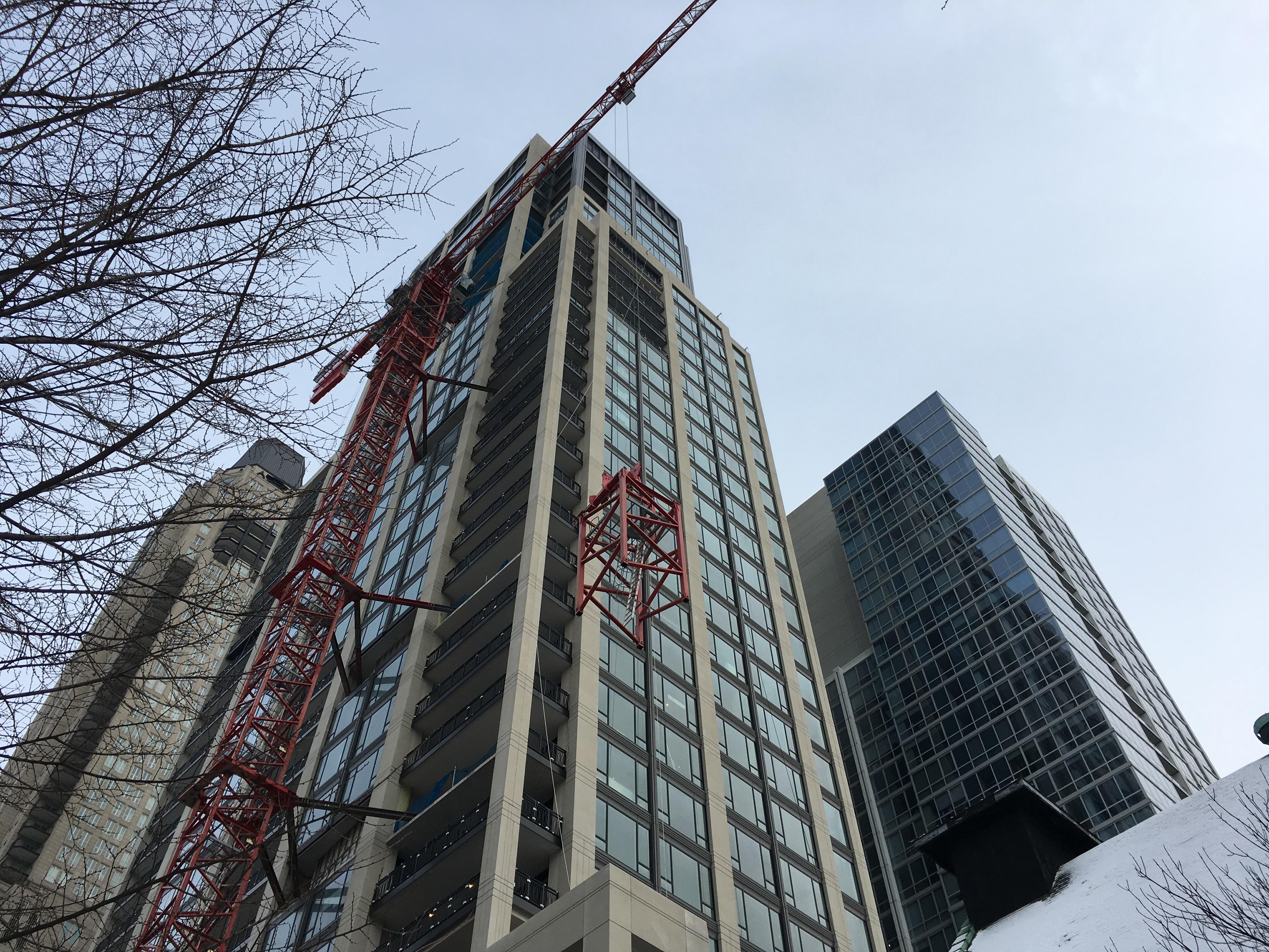 No. 9 Walton tower crane