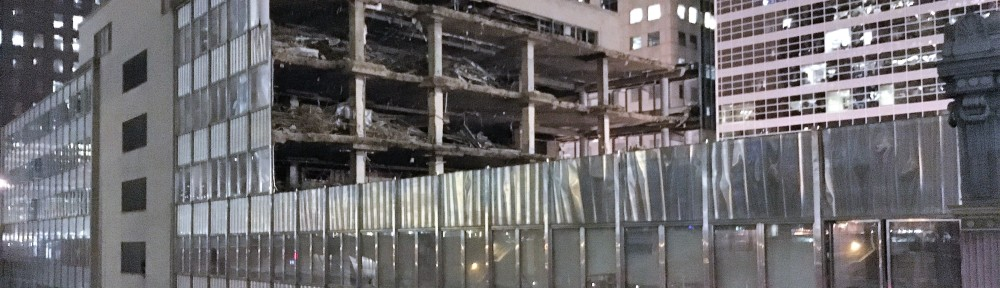 Morton Salt Building demolition
