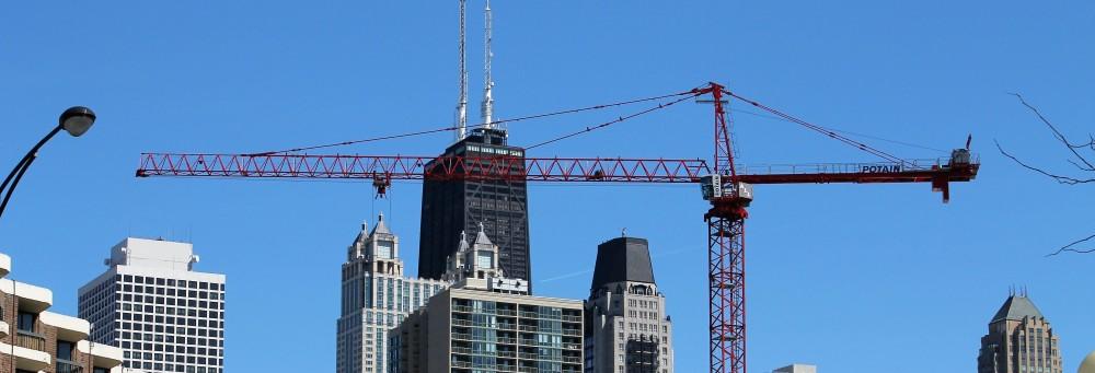 May 2018 tower cranes