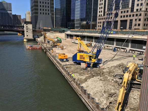 110 North Wacker Foundation work