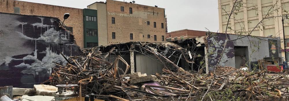 1415 South Wabash demolition