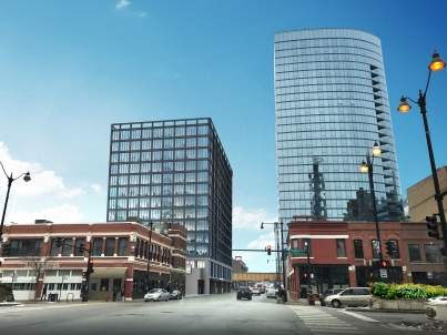 167 Green Street rendering from Focus Development.