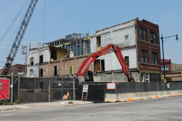 Demolition for 167 Green Street
