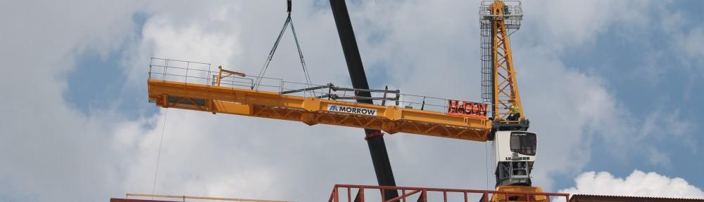 Hayden West Loop tower crane removal