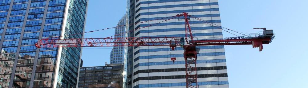 Parkline Chicago tower crane